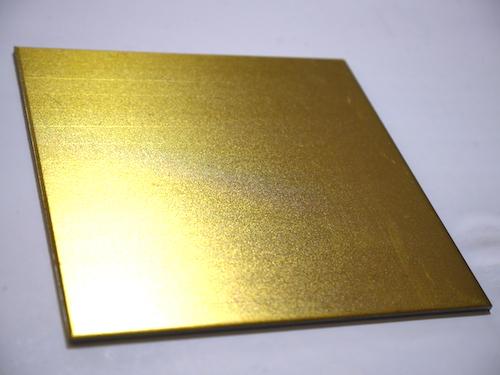 金色塗装印刷