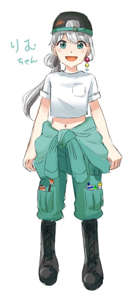 アクリルノベルティ・キャラクター製作、リムちゃん